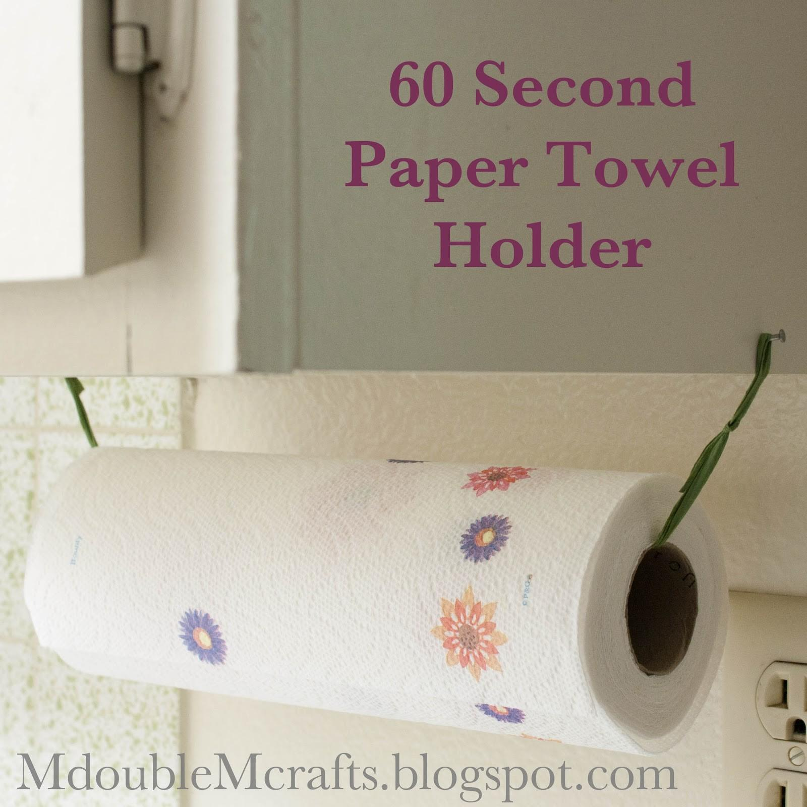 Crafts Paper Towel Holder