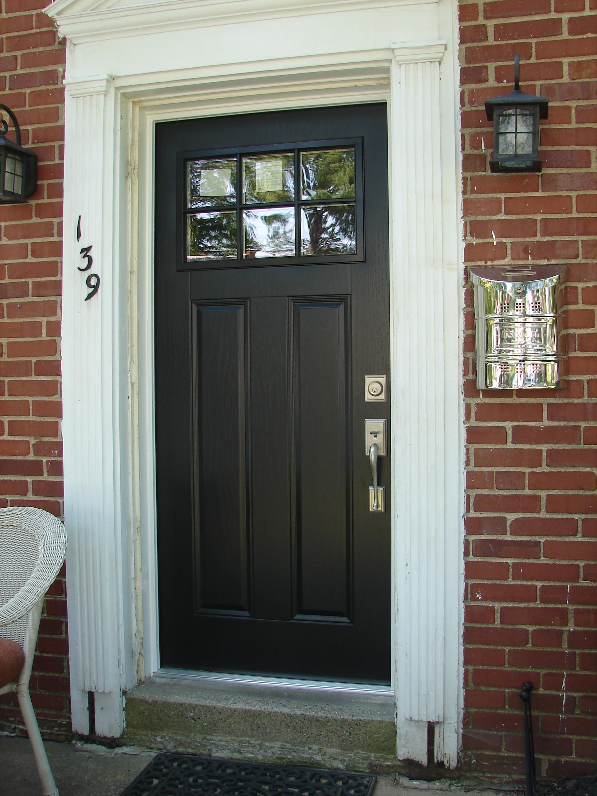 Craftsman Style Front Doors Creative Home Decoration