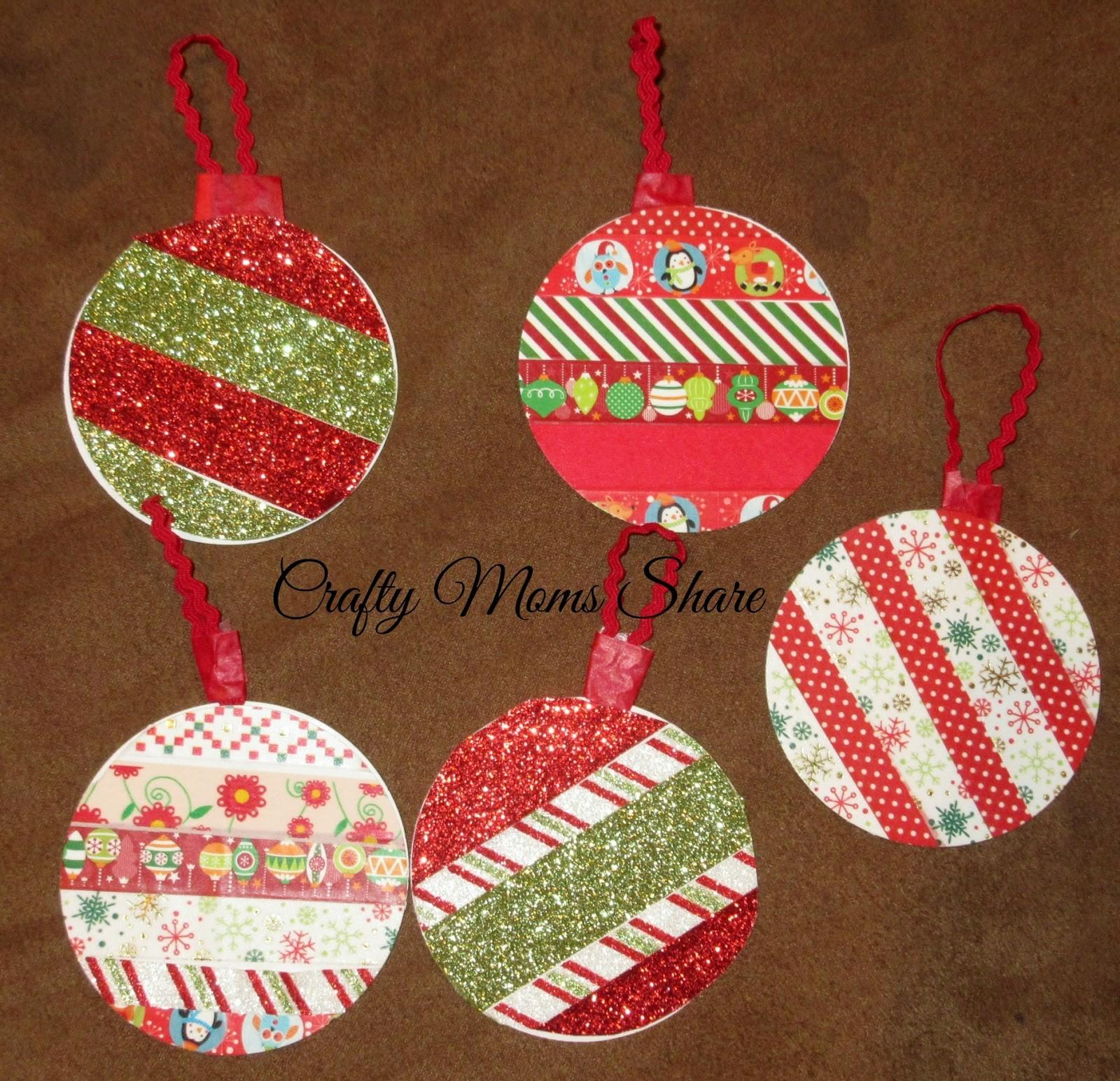 Crafty Moms Share Diy Christmas Cards Gift