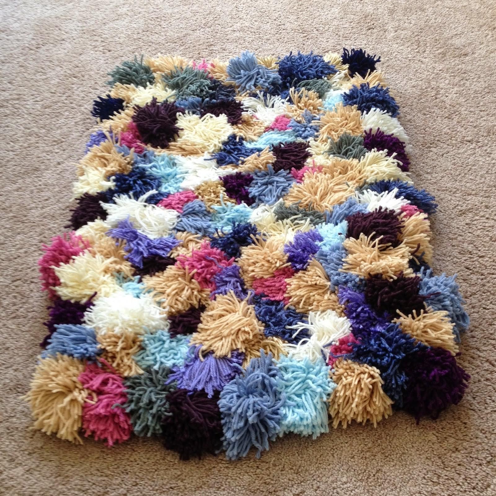 Crafty Novice Diy Yarn Rug