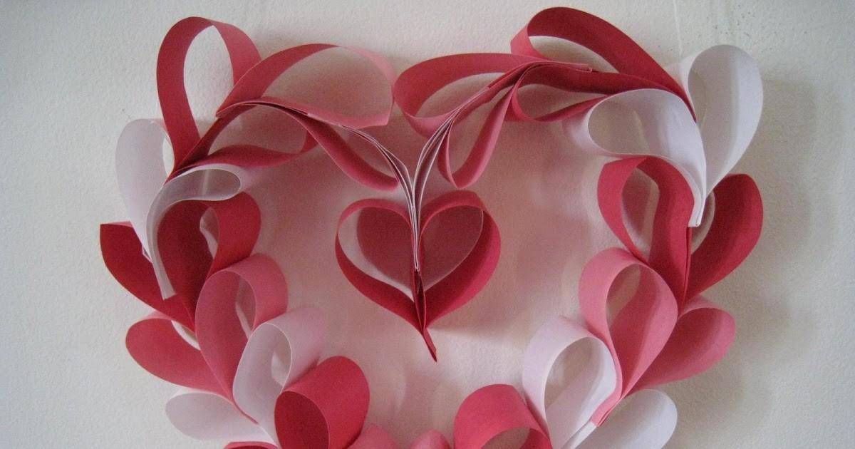Crazy Kings Valentine Paper Heart