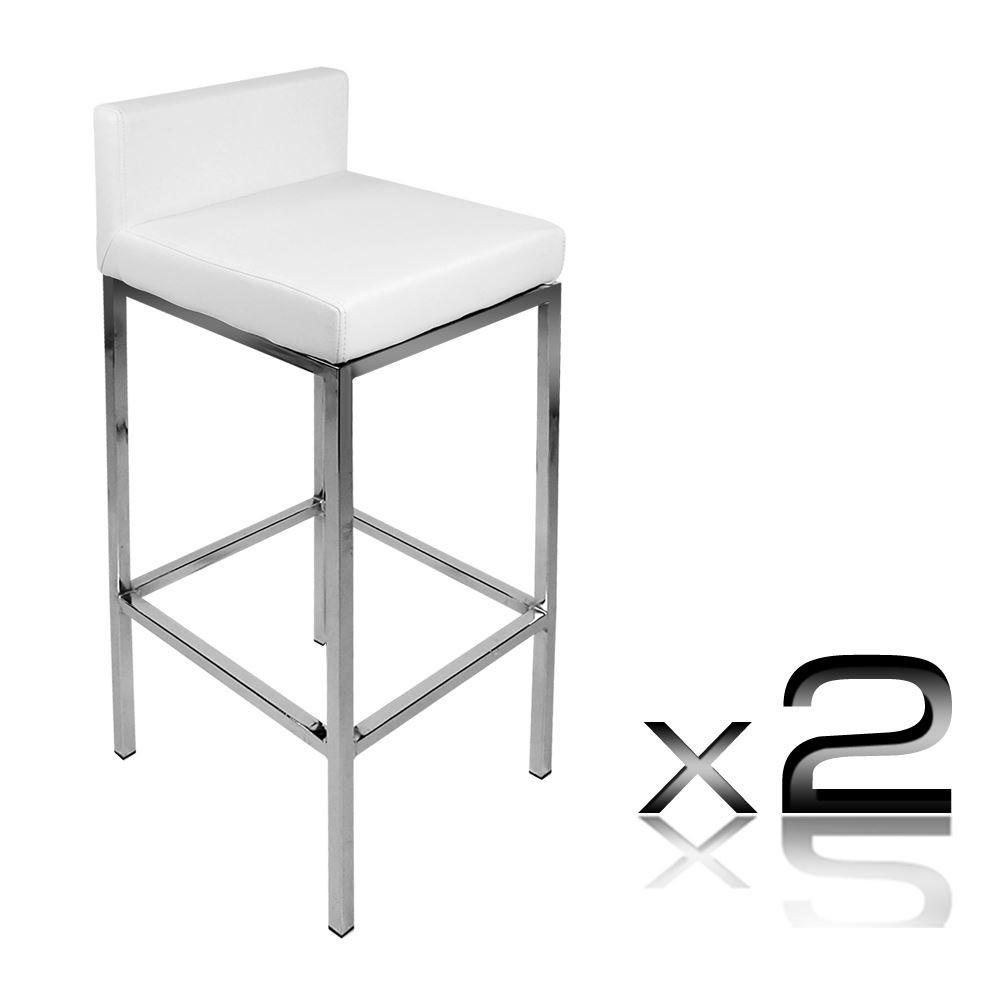 Crazy Mall Synthetic Leather Bar Stool Modern