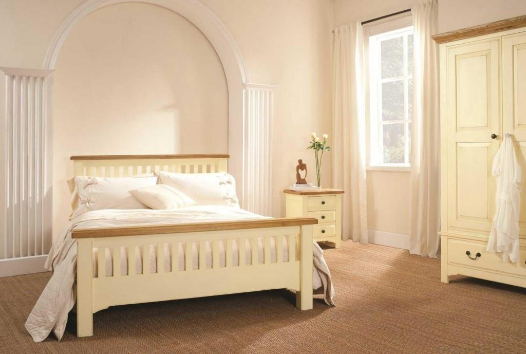 Cream Wood Bedroom Furniture Collections