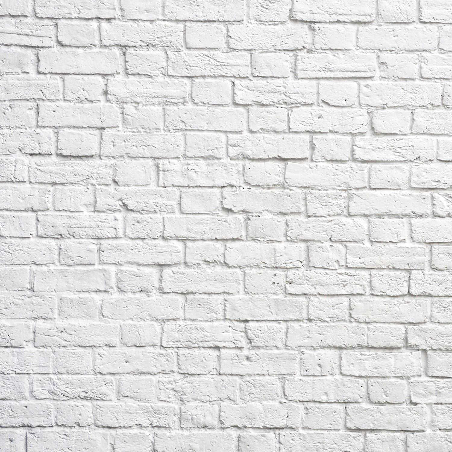 Create Chic Statement White Brick Wall