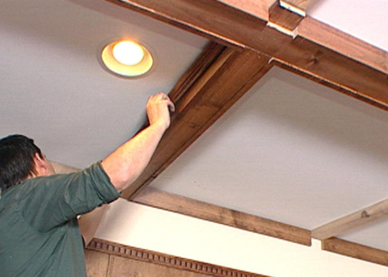 Create Coffered Ceiling