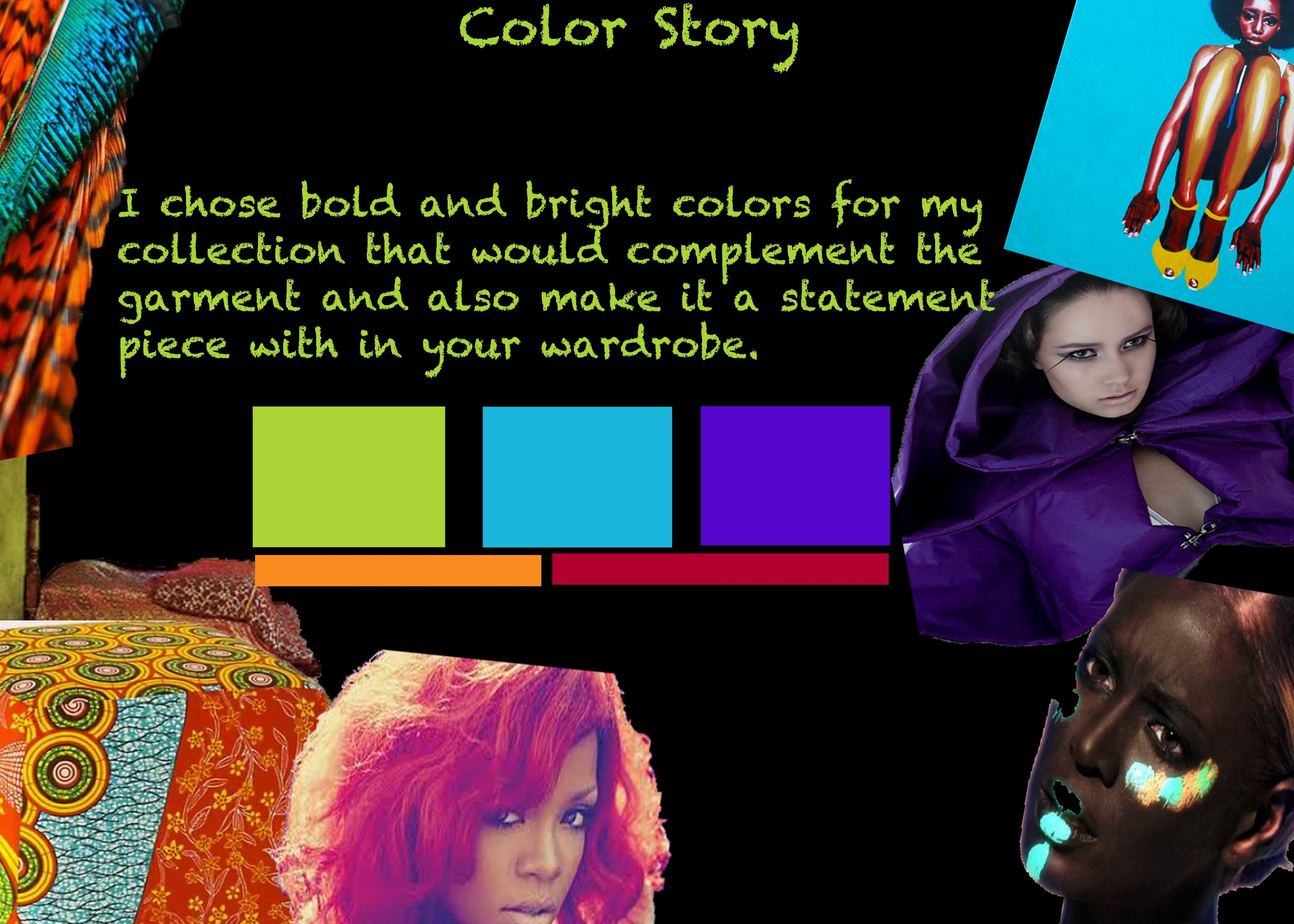 Create Color Story Board Ginger Twine