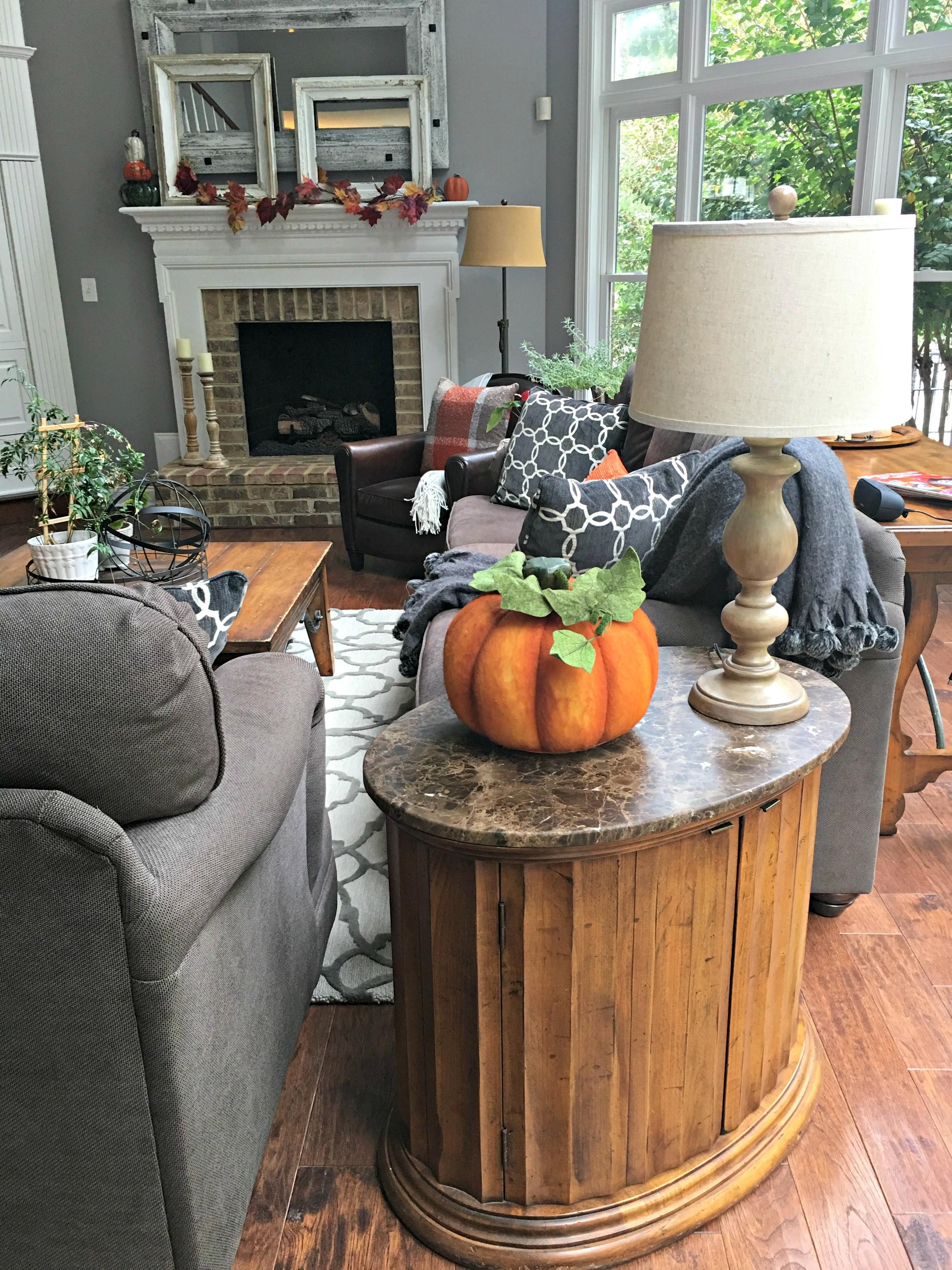 Create Cozy Fall Home Using Pops Orange