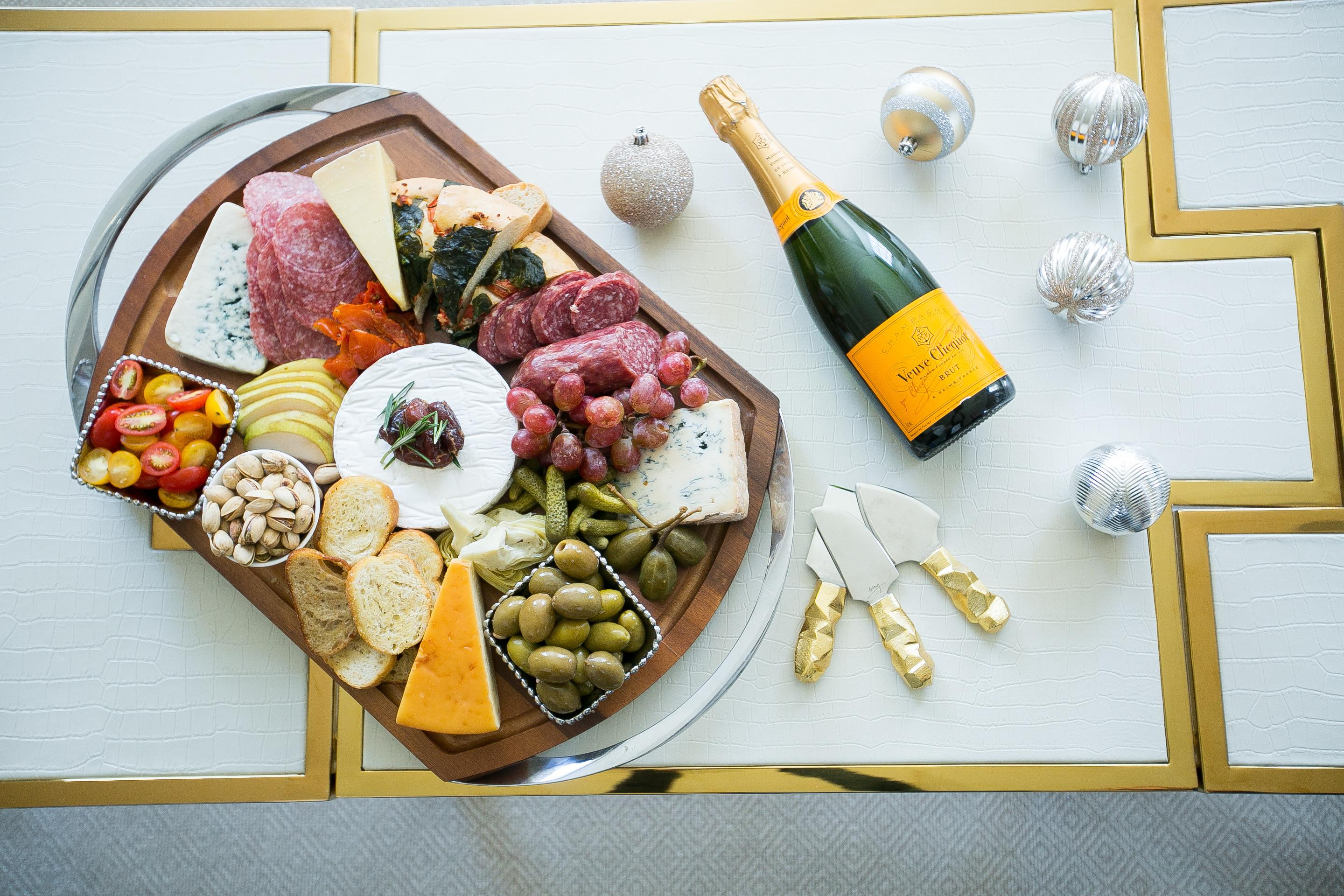 Create Decadent Holiday Cheese Board Fashionable