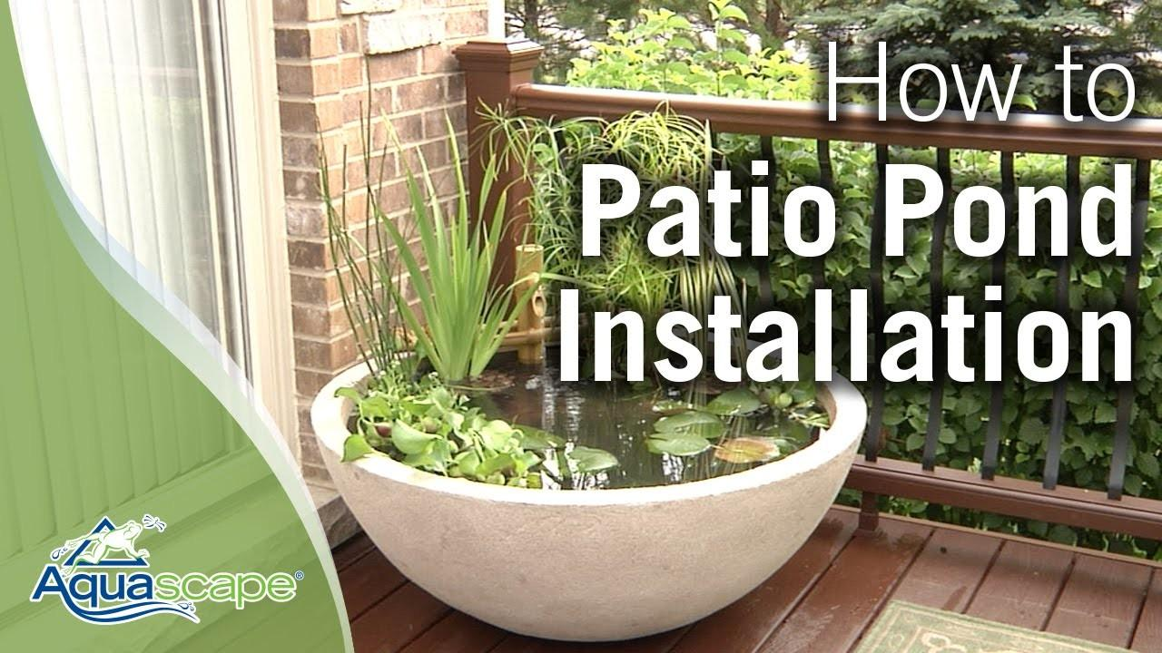 Create Easy Container Water Feature