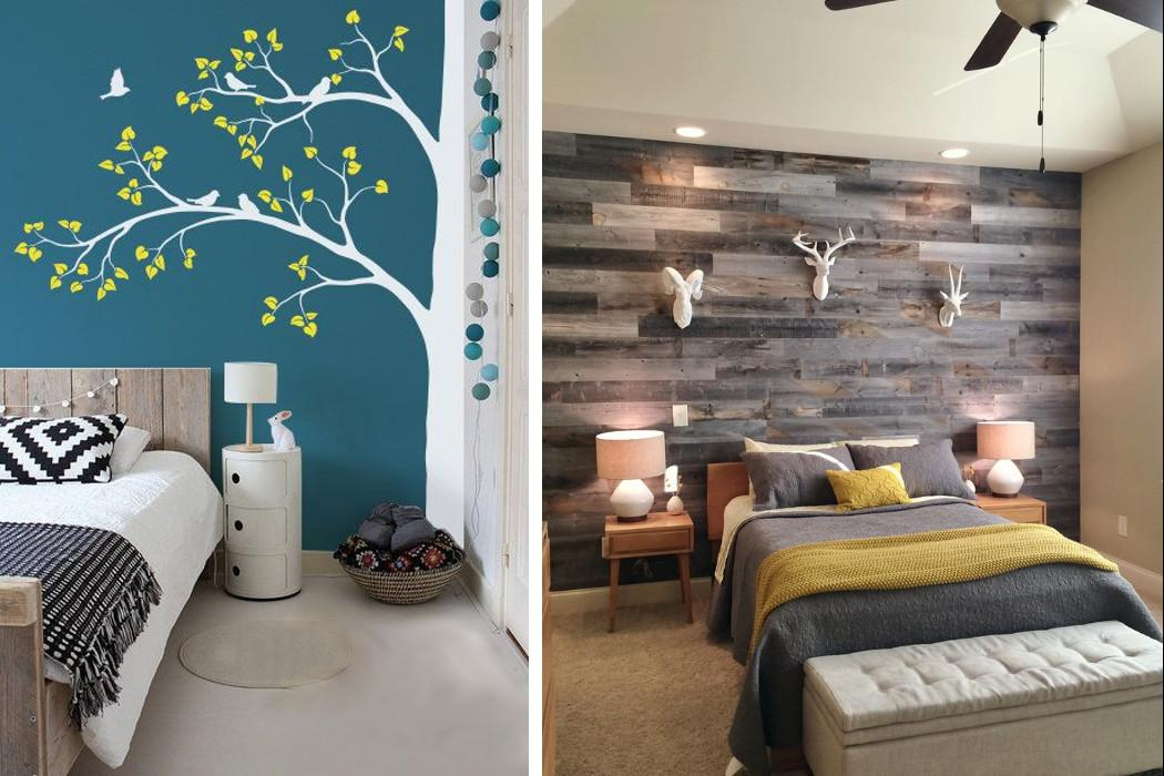 Create Eye Catching Look Feature Wall Fads