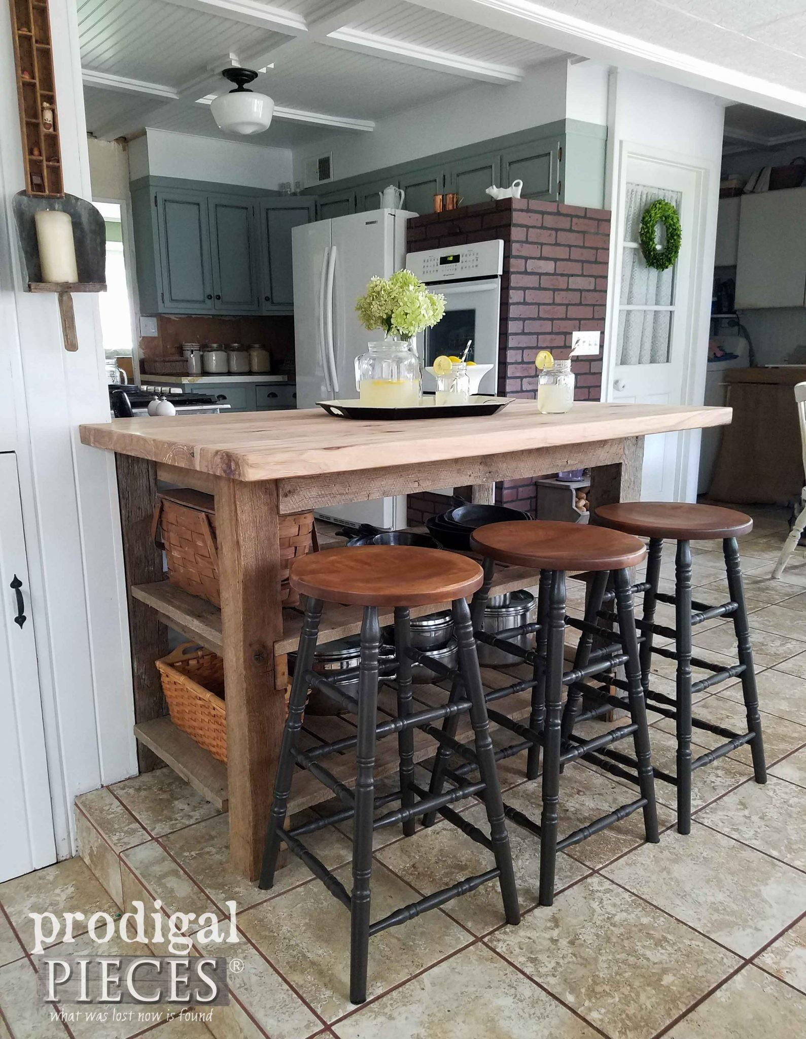 Create Farmhouse Styled Kitchen Making Remodeling Bar