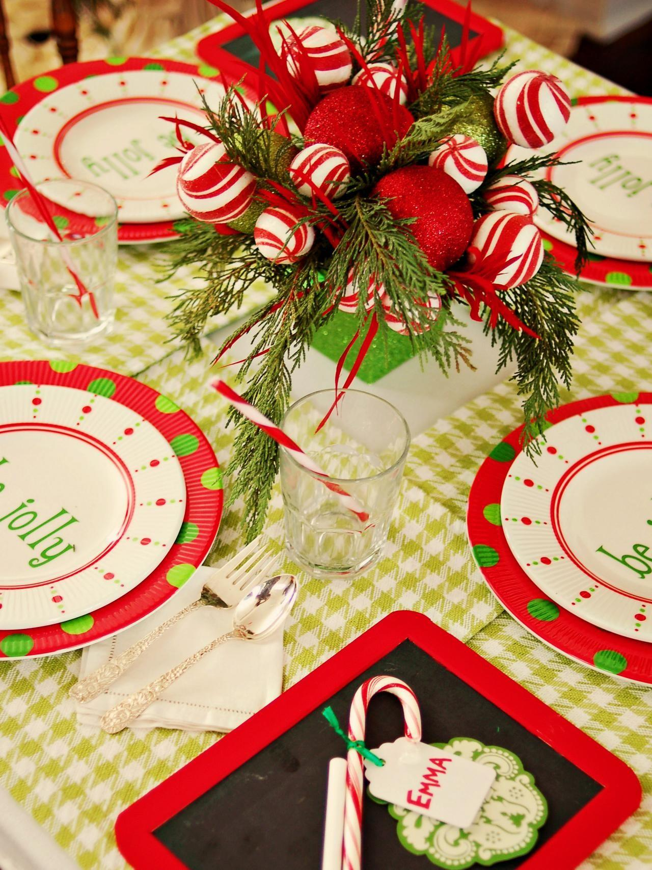 Create Festive Holiday Kids Table Entertaining Ideas