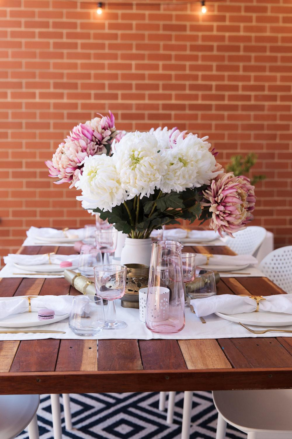 Create Floral Festive Outdoor Entertaining
