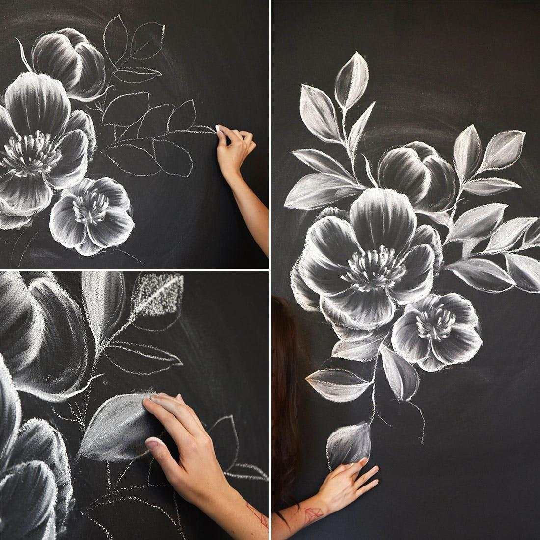Create Gorgeous Chalk Mural Like Instagram Pro
