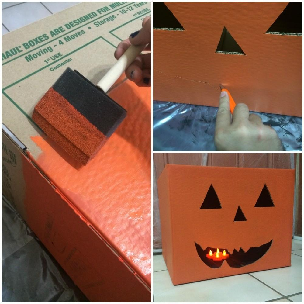 Create Halloween Cor Using Moving Boxes Fry Wagner