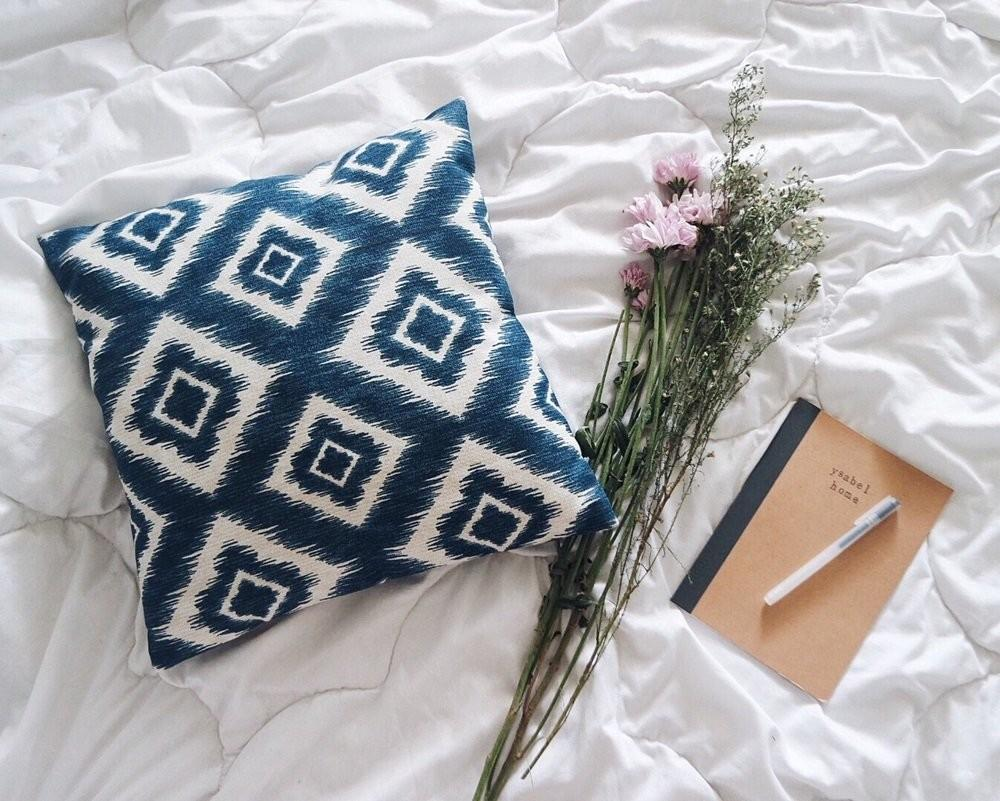 Create Ikat Pillow Covers Buzzardfilm