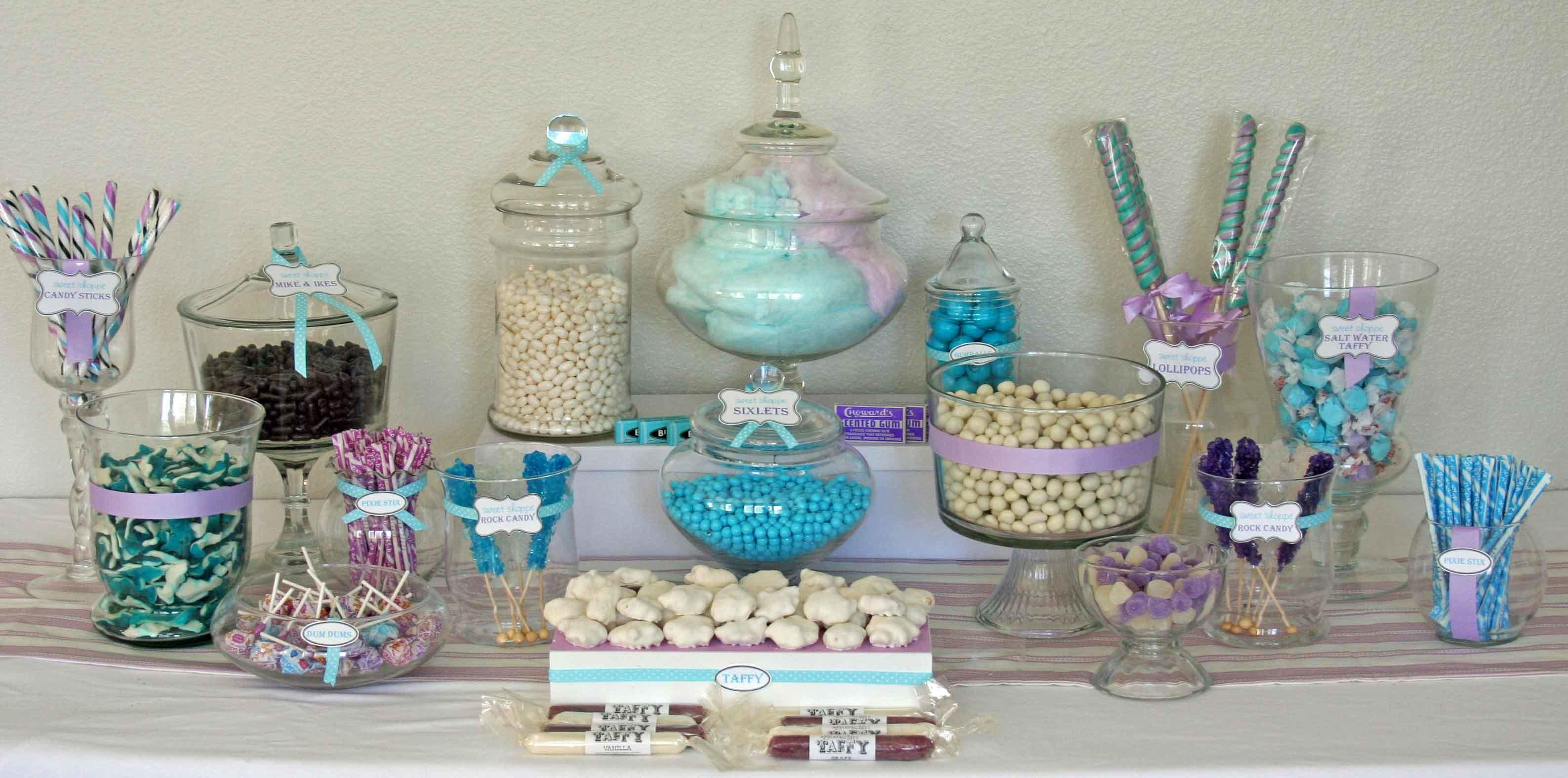 Create Perfect Diy Candy Buffet Love Style