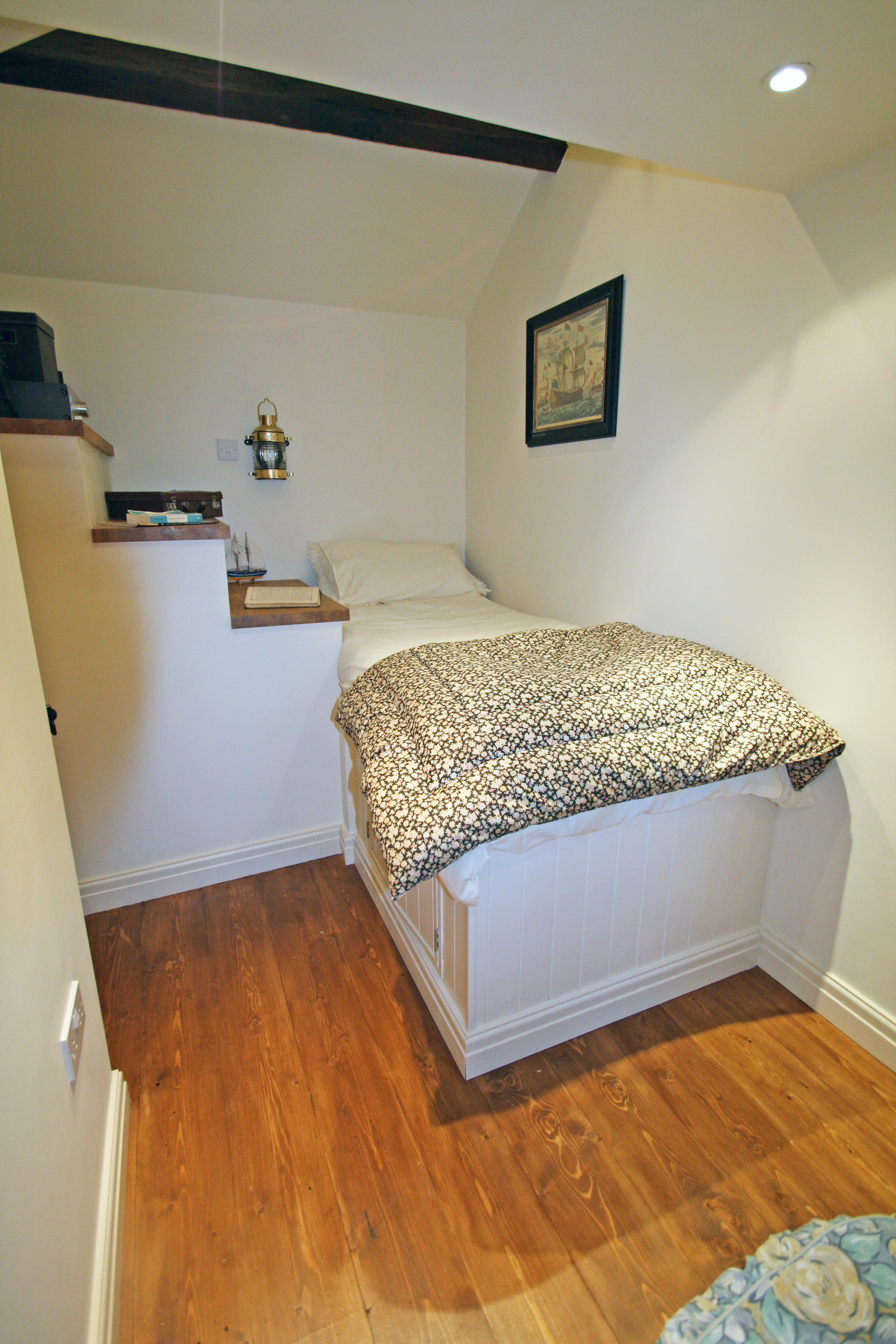 Create Small Space Bed Deck Over Stairs Moregeous