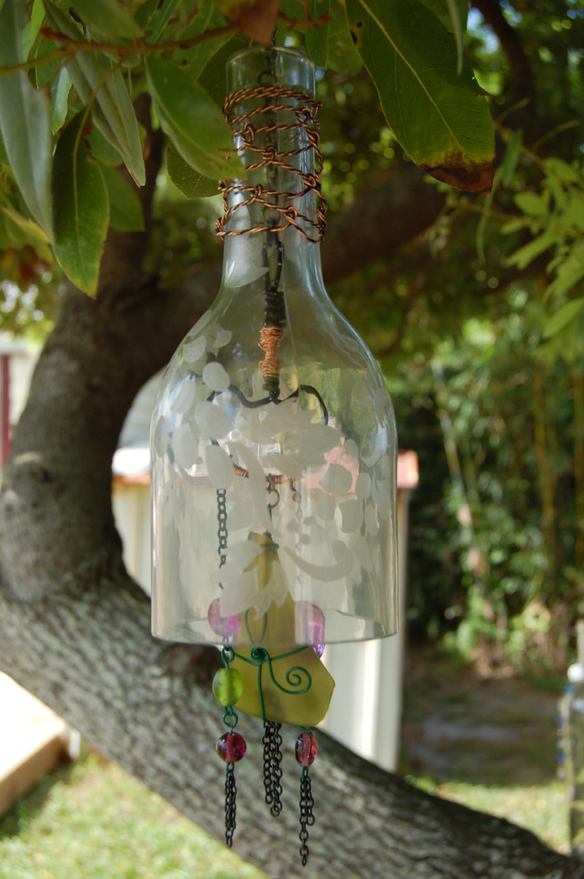 Create Your Own Green Retro Wind Chime Out