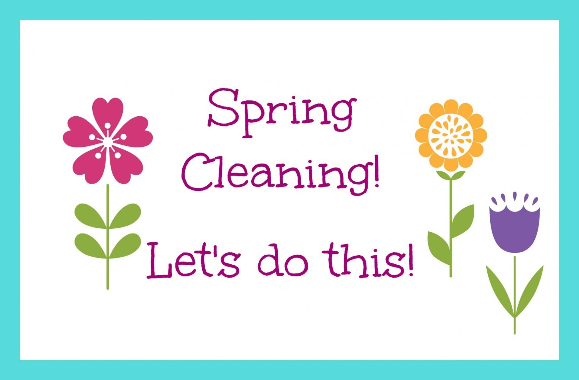 Create Your Spring Cleaning Plan