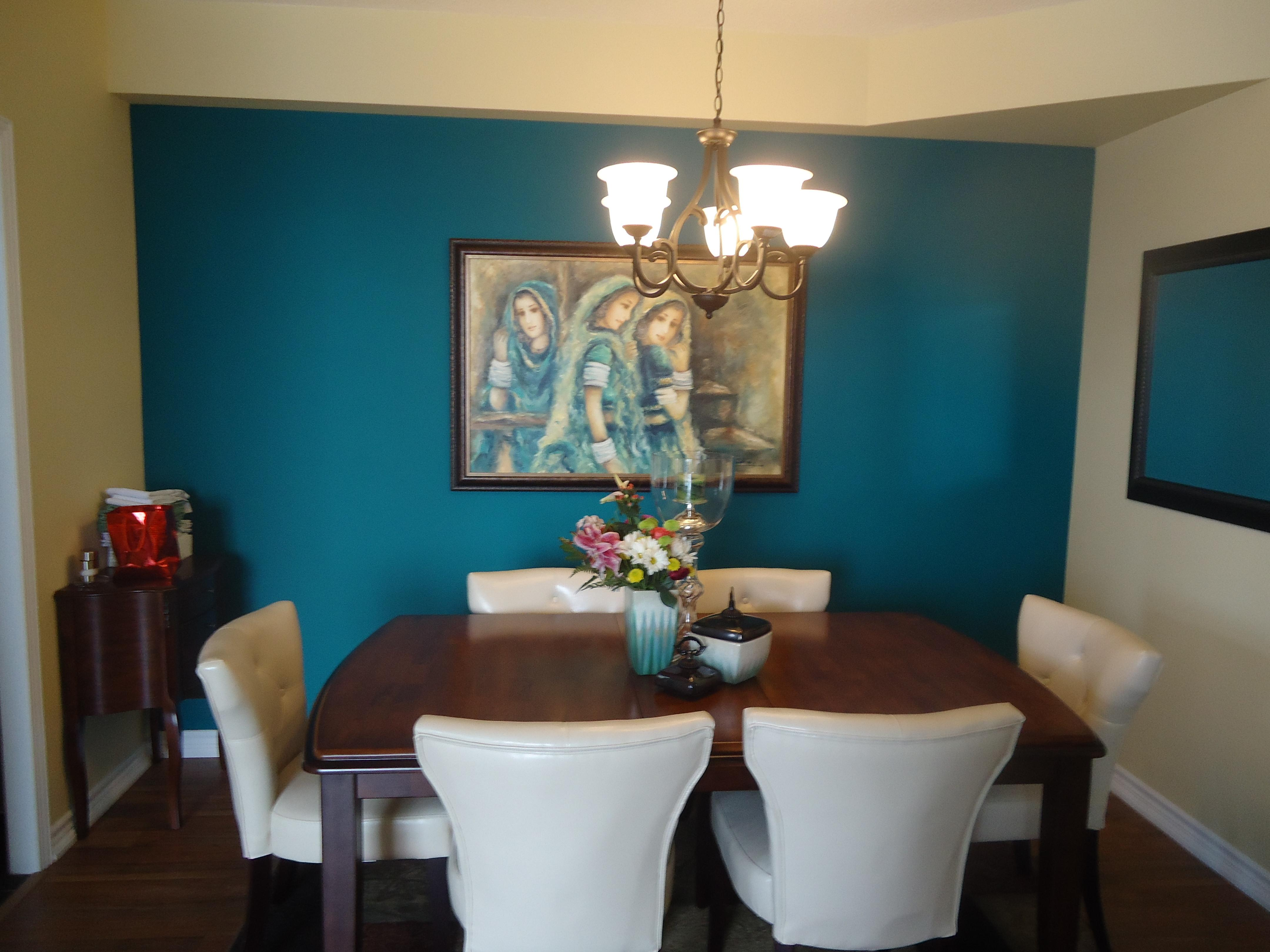 Creating Dramatic Focal Point Artwork Small Space