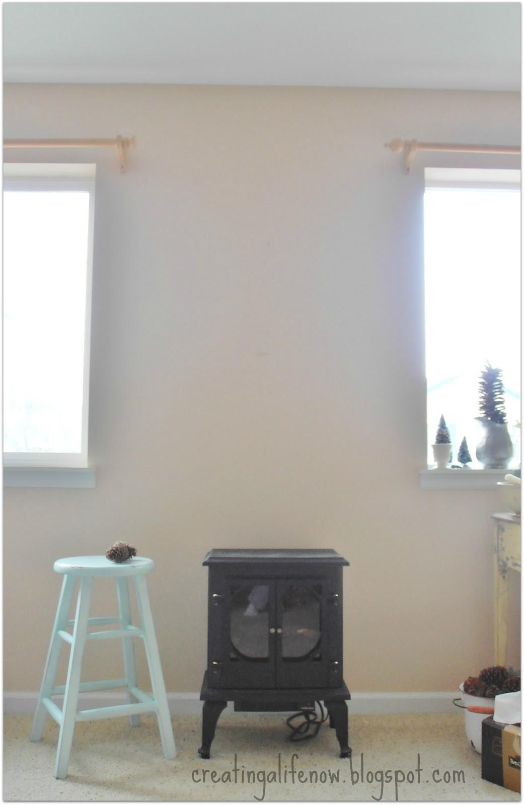 Creating Life Faux Fireplace Mantel