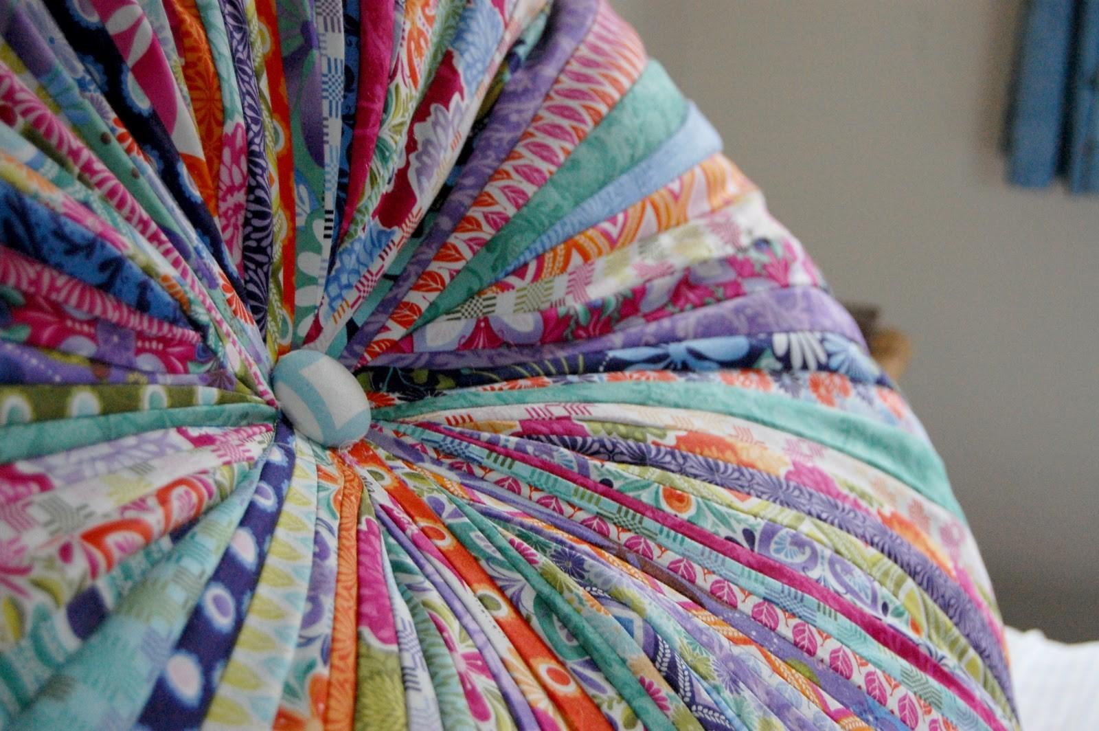 Creating Paper Dreams Jelly Roll Floor Pillow