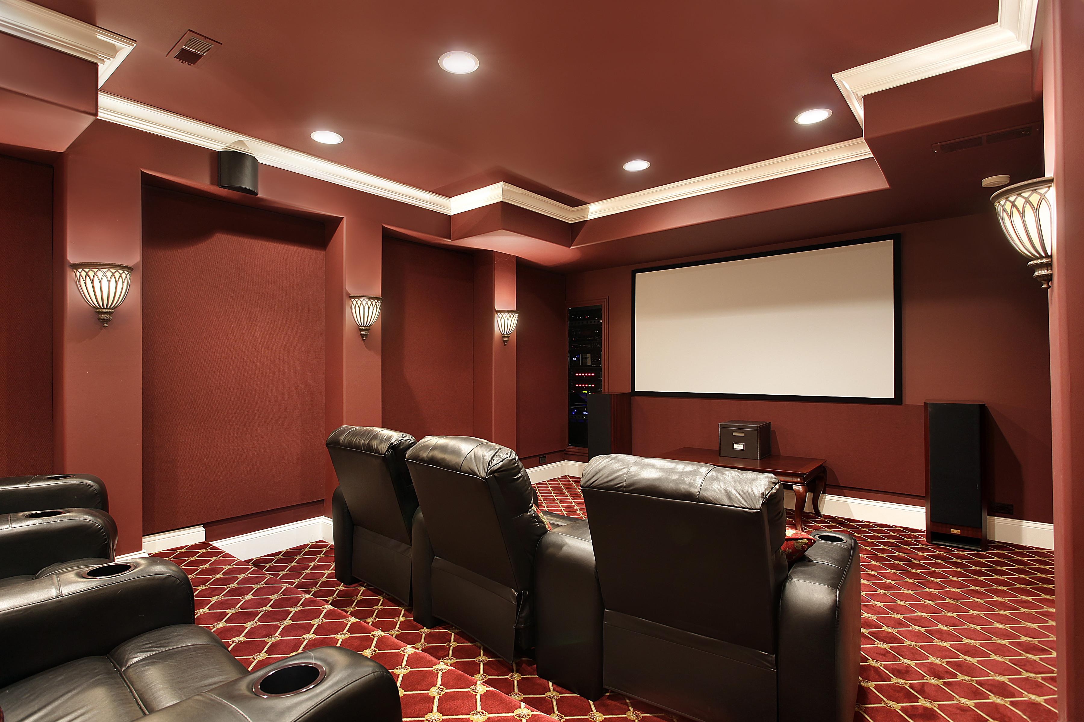 Creating Perfect Home Theatre Set Curved Seating