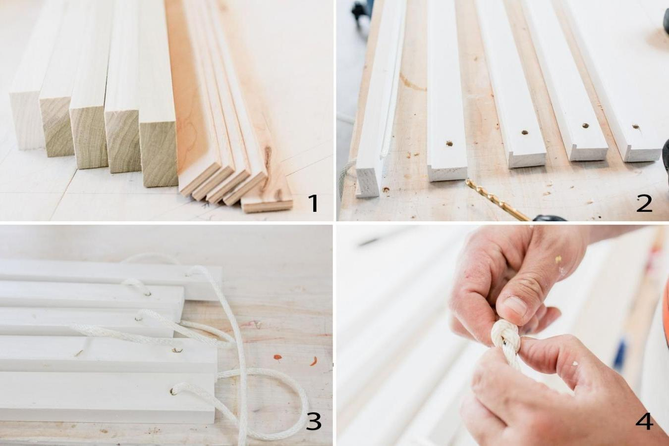 Creating Simple Hanging Shelves Gosiadesign