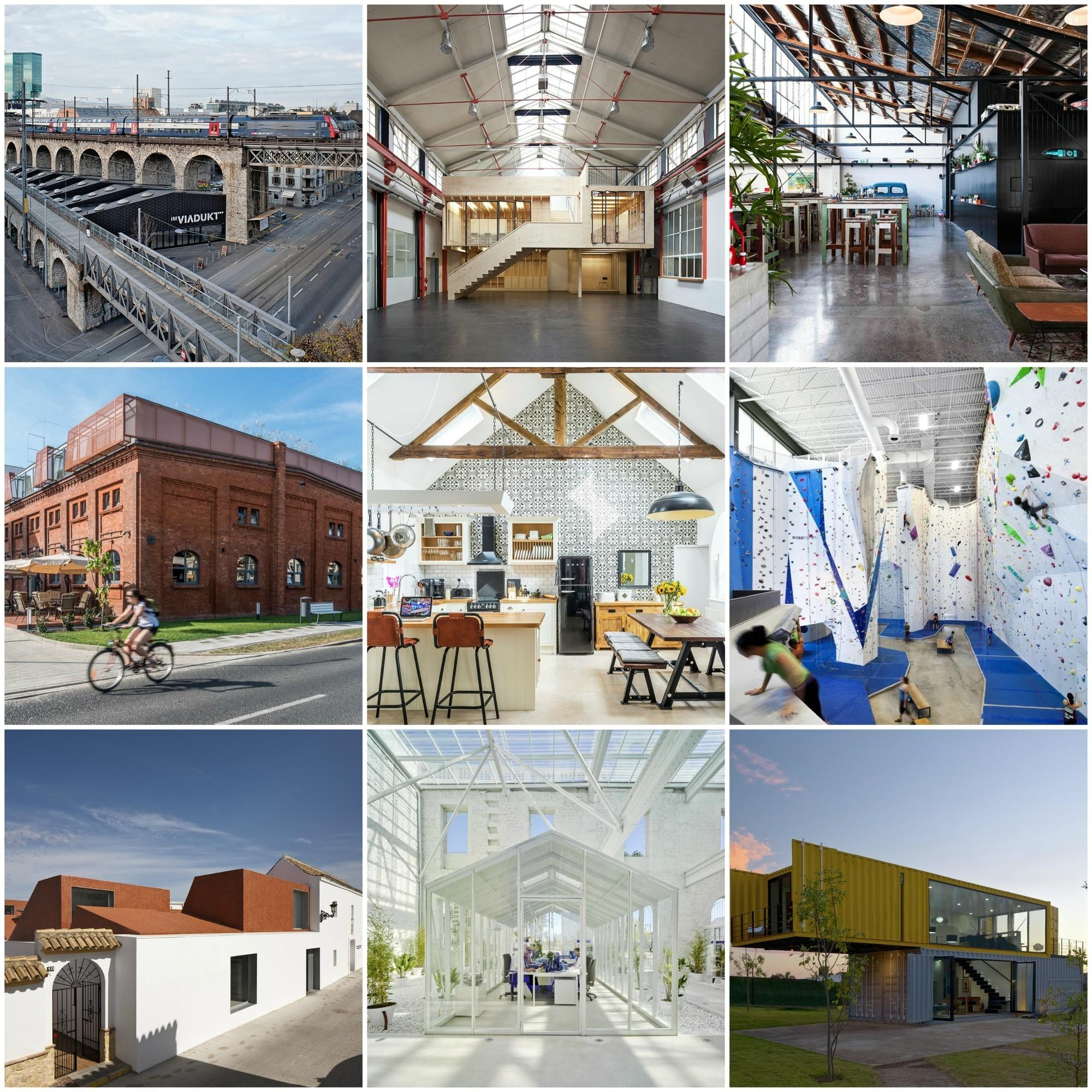 Creative Adaptive Reuse Projects Archdaily
