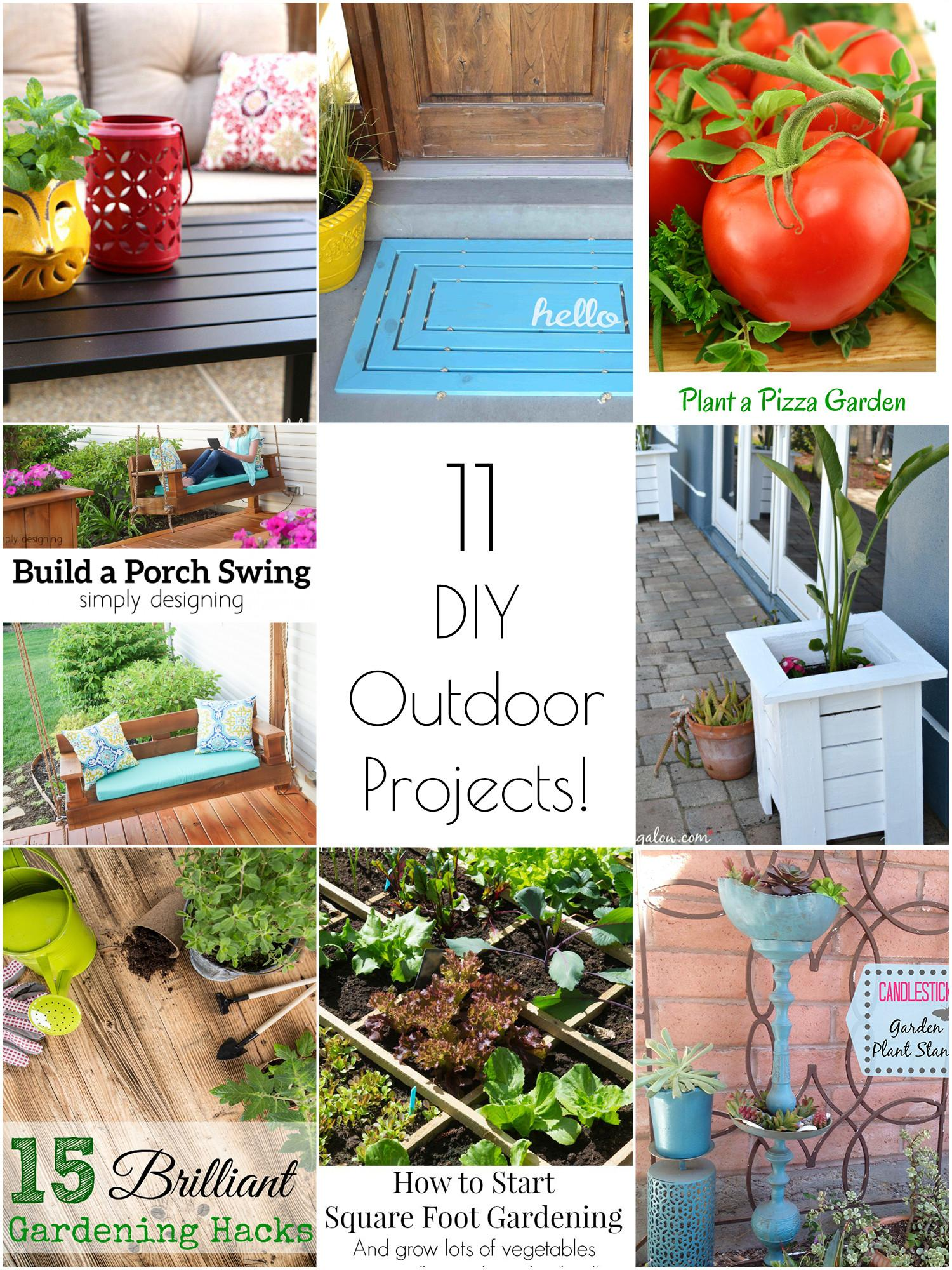 Creative Amazing Diy Outdoor Projects