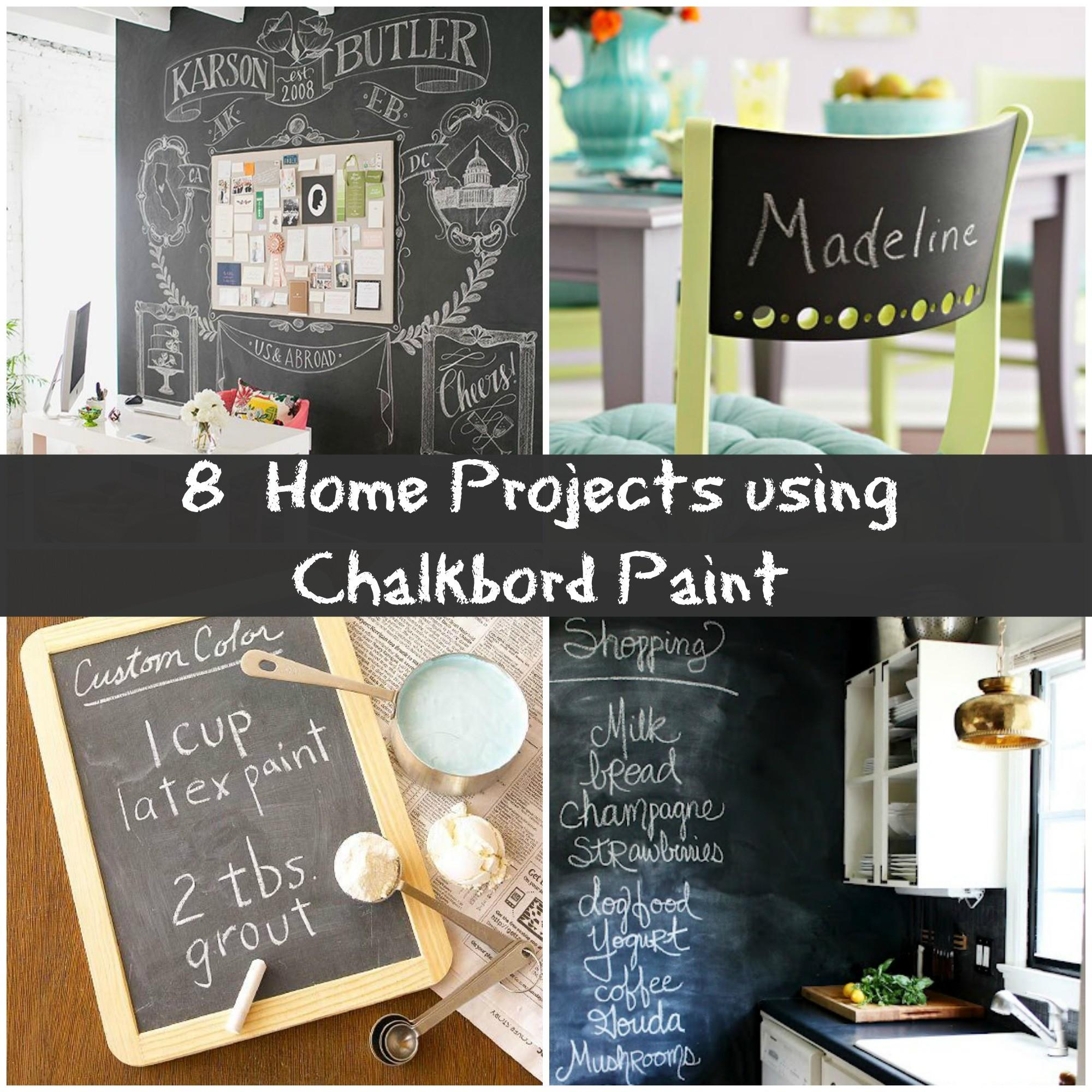 Creative Chalkboard Project Ideas Your Home