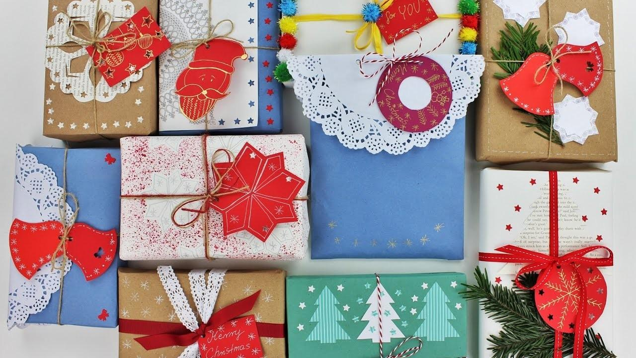 Creative Christmas Gift Wrapping Ideas Fast Easy