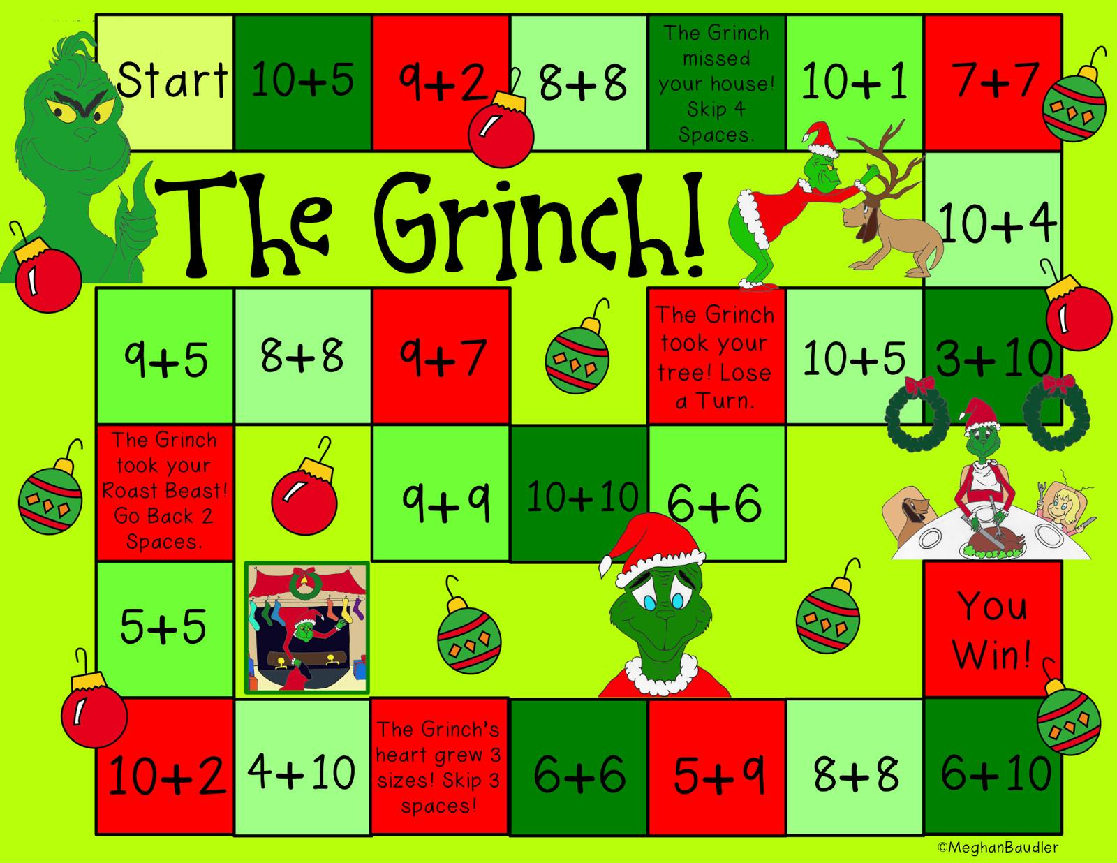Creative Colorful Classroom Grinch Day Plans