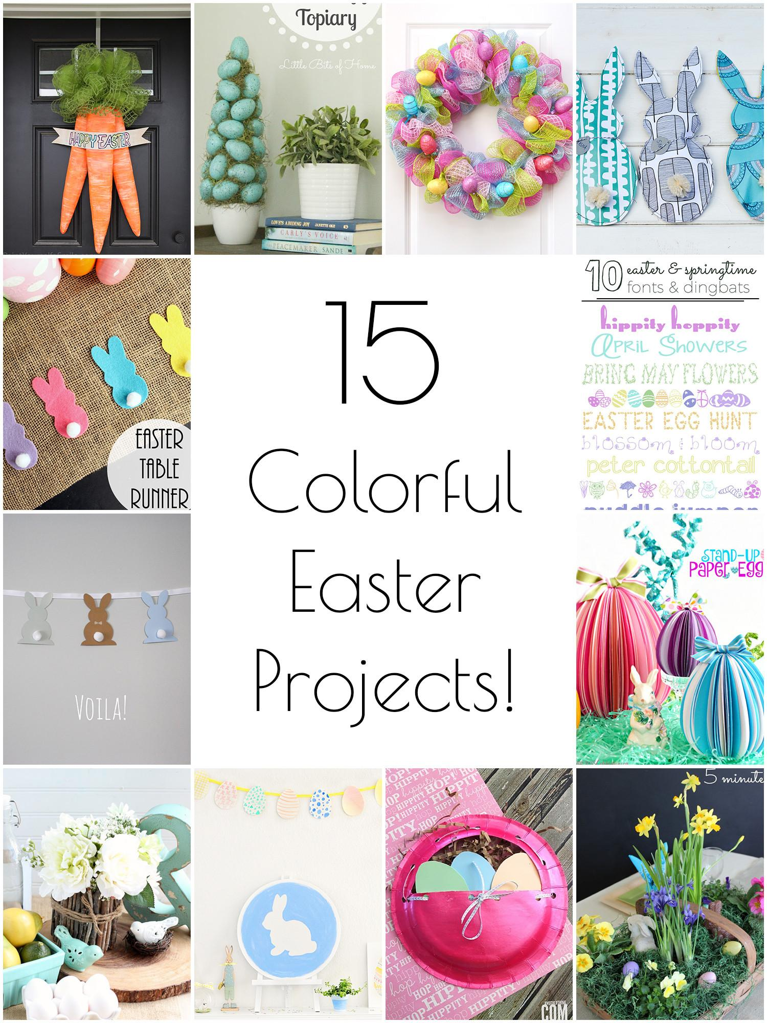 Creative Colorful Easter Crafts
