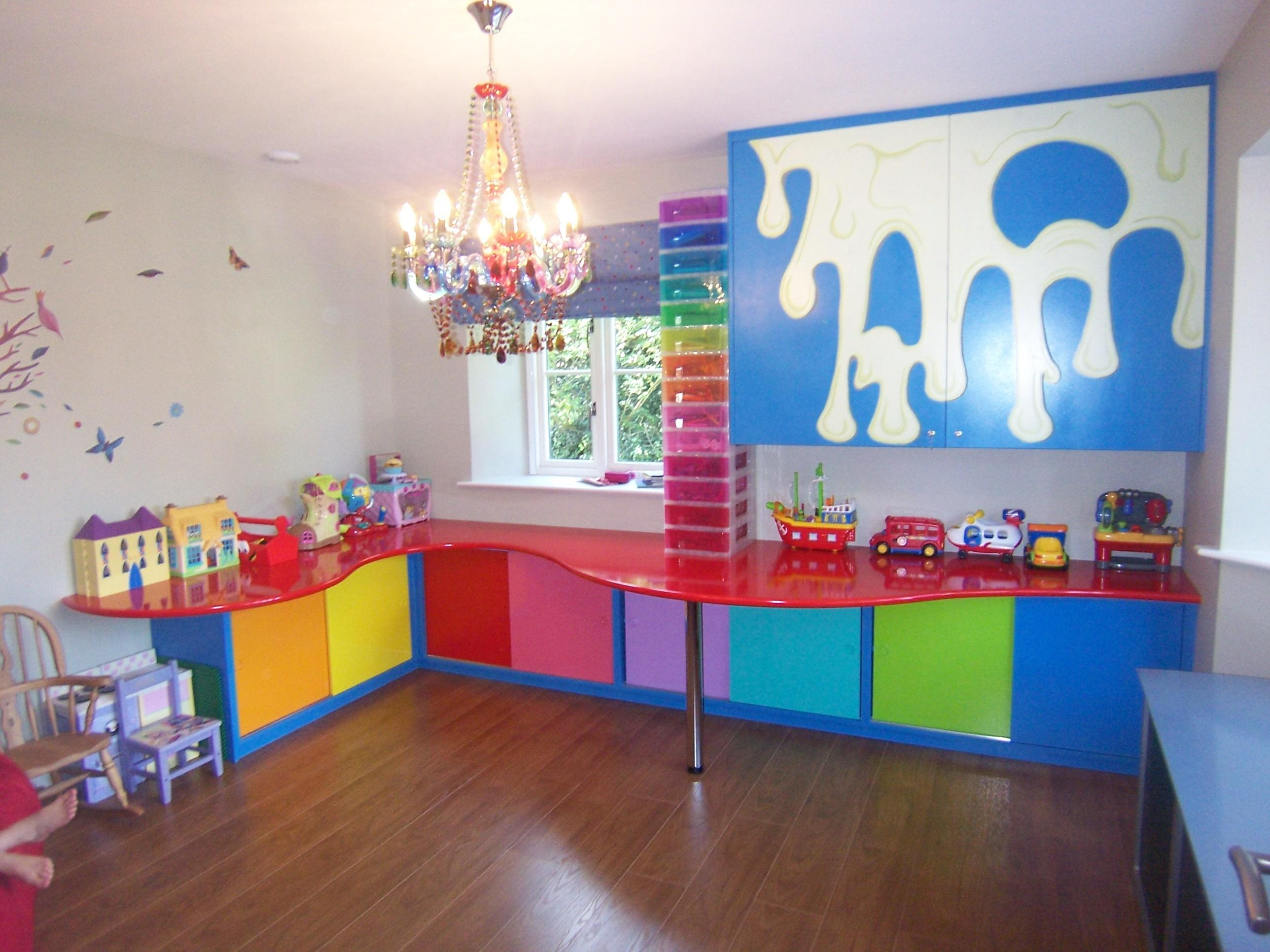 Creative Colorful Toy Storage Solutions Kids Room