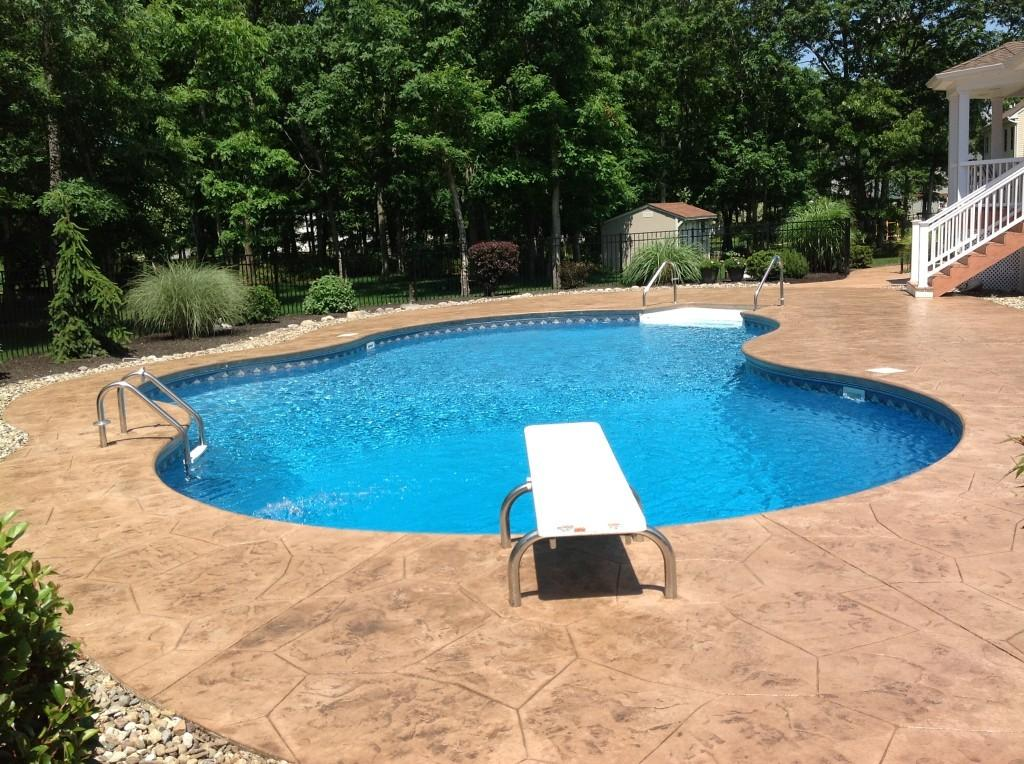 Creative Concrete Stamped Pool Deck Manalapan