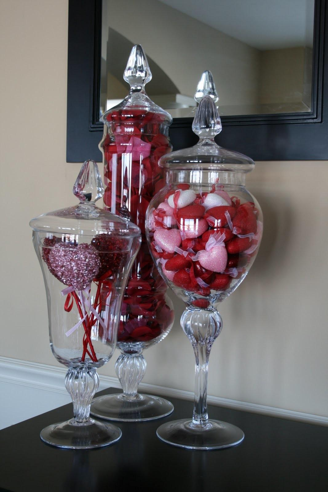 Creative Designs Jen Valentine Day Apothecary Jars
