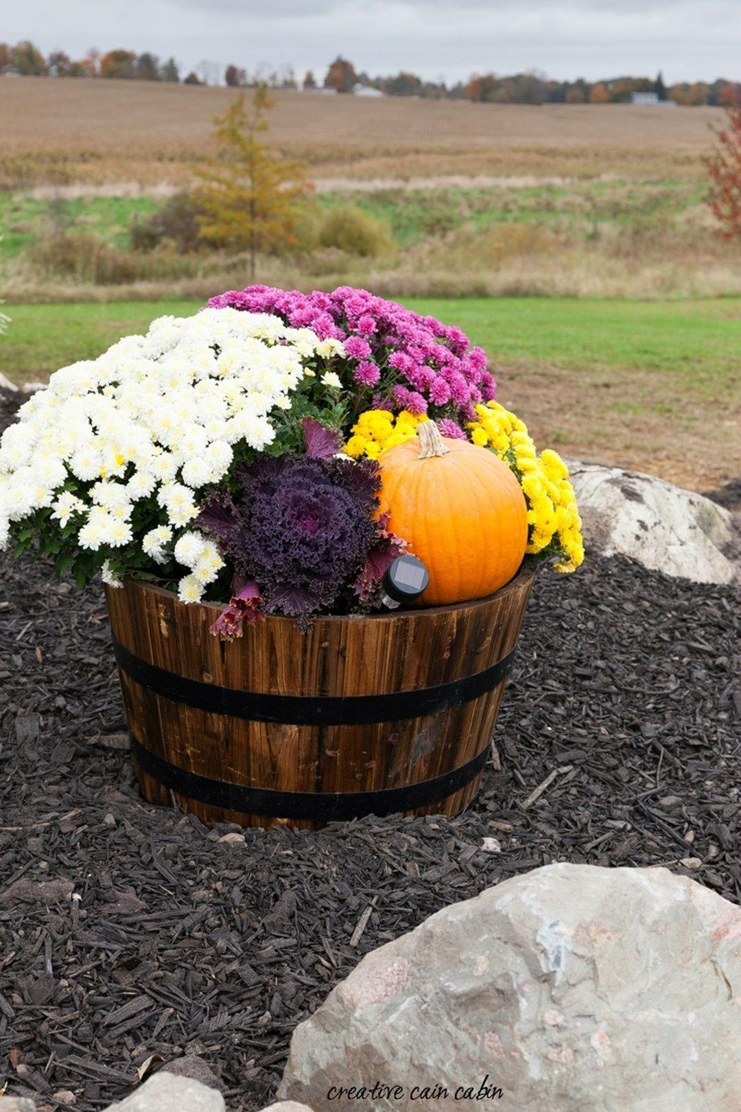 Creative Diy Fall Planters Simply Adore