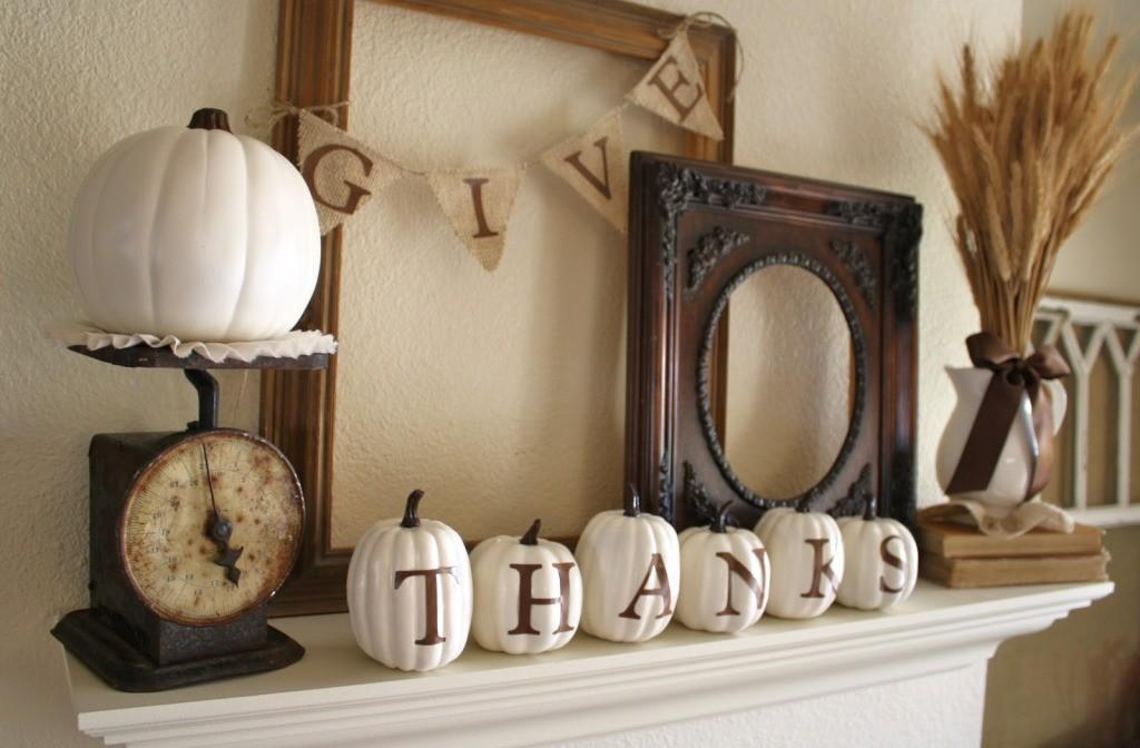 Creative Diy Thanksgiving Decorating Ideas 2017