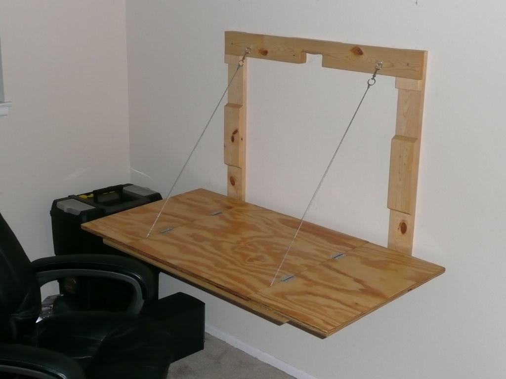 Creative Diy Wall Mounted Drop Down Study Table Small