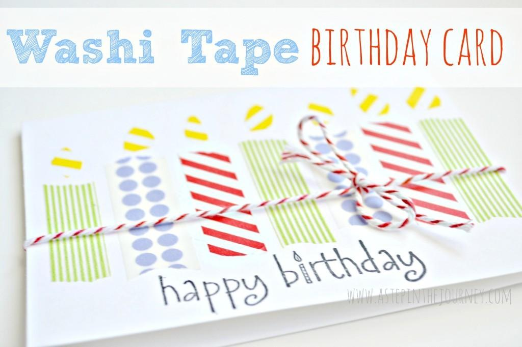 Creative Diy Washi Tape Projects Fun Spring
