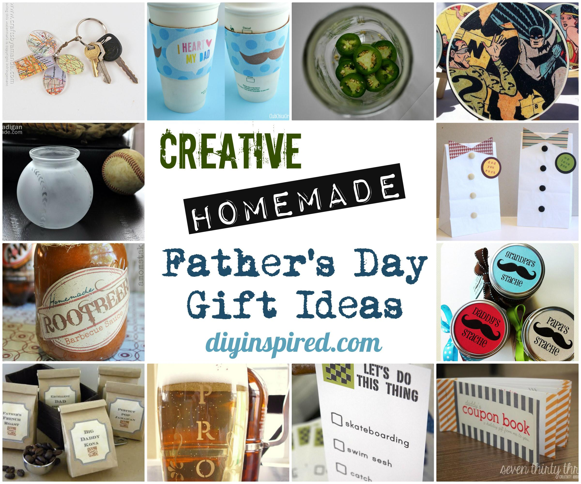Creative Homemade Father Day Gift Ideas Diy Inspired