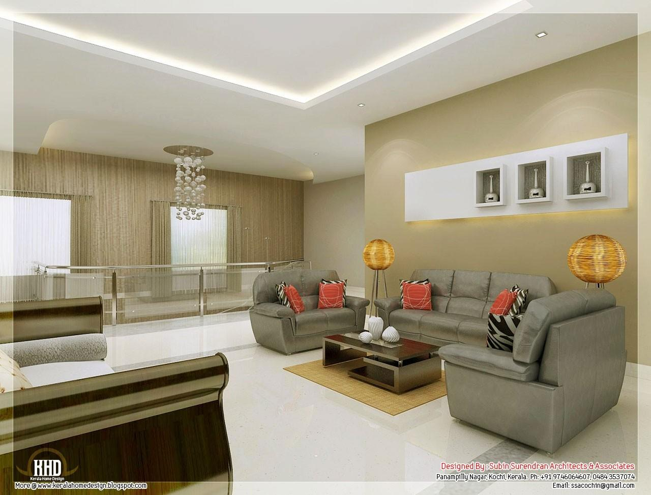 Creative House Design Living Room Duplex Designs Kerala Decoratorist 12231