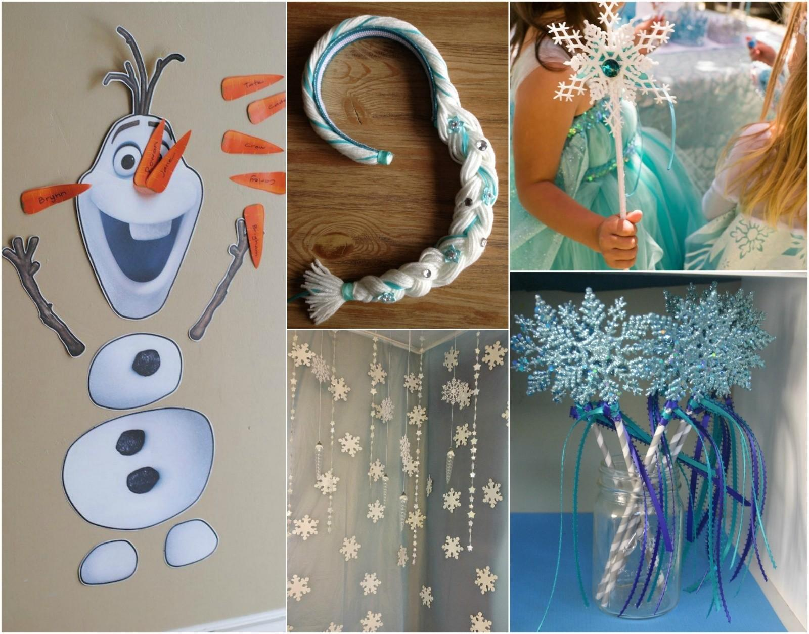 Creative Ideas Hosting Frozen Birthday Party Theme