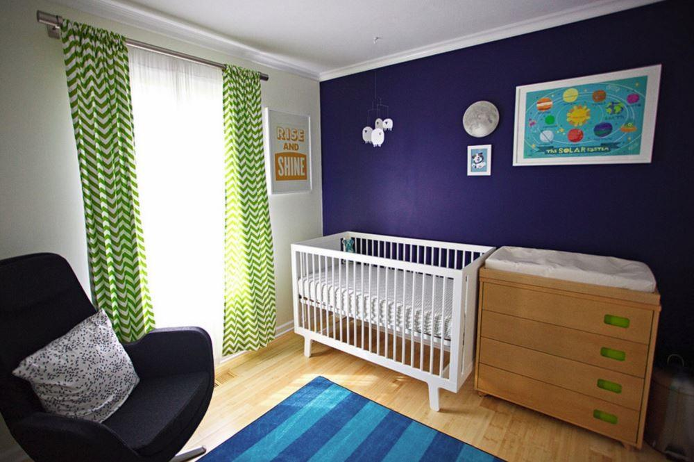 Creative Ideas Your Nursery Accent Wall