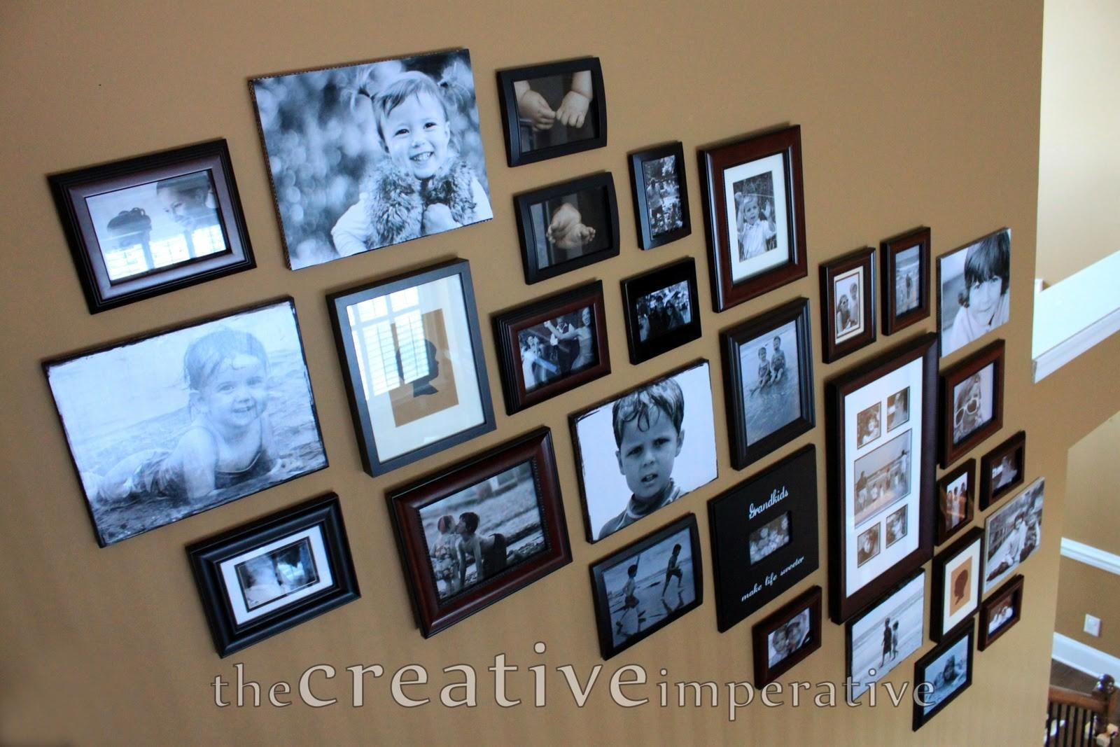 Creative Imperative Stairway Wall