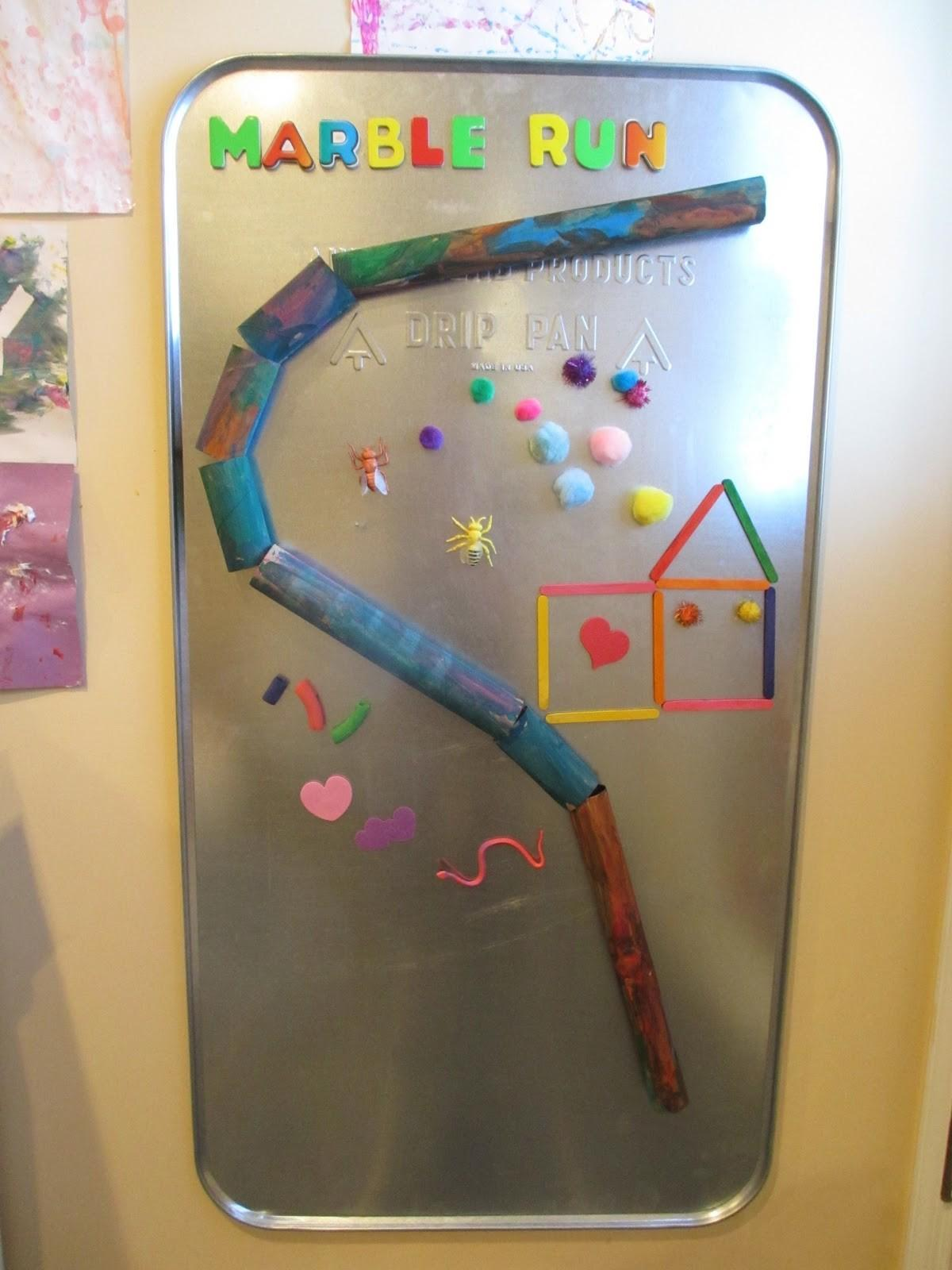 Creative Magnets Marble Run Growing Jeweled Rose