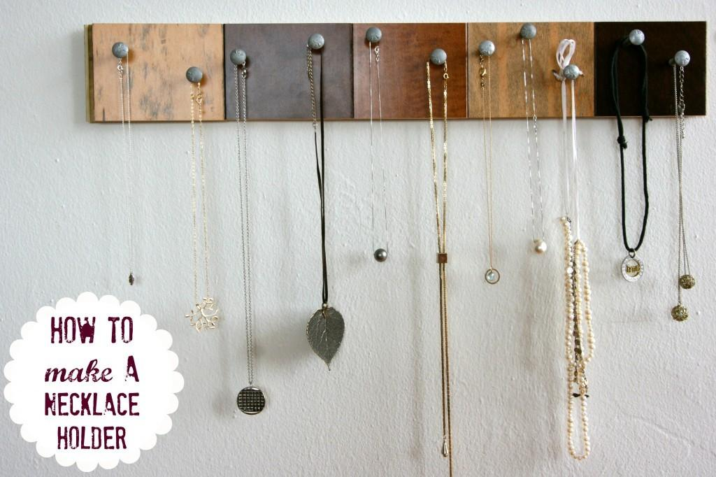 Creative Necklace Organization Ideas Thinking Closet