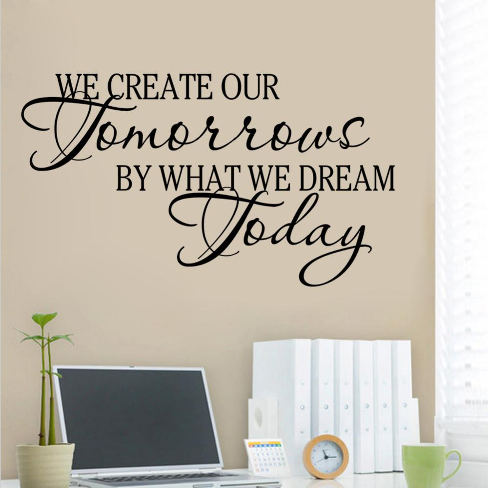Creative Our Tomorrows Dream Today Inspirational